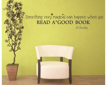 Autocollant muraux J.K.Rowling motivational quote