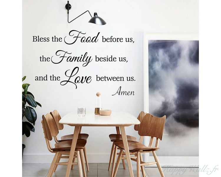 Family quotes for your dining room