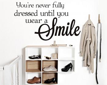 Smile Citation autocollant