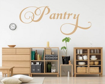 Pantry Wall Decal Pantry Étiquette