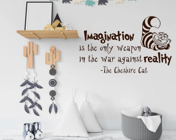 Alice In Wonderland Wall Decal Citation