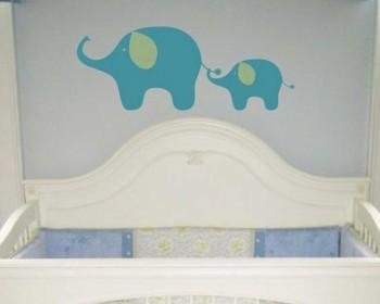 Stickers muraux éléphant