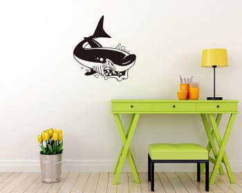 Stickers muraux animal requin