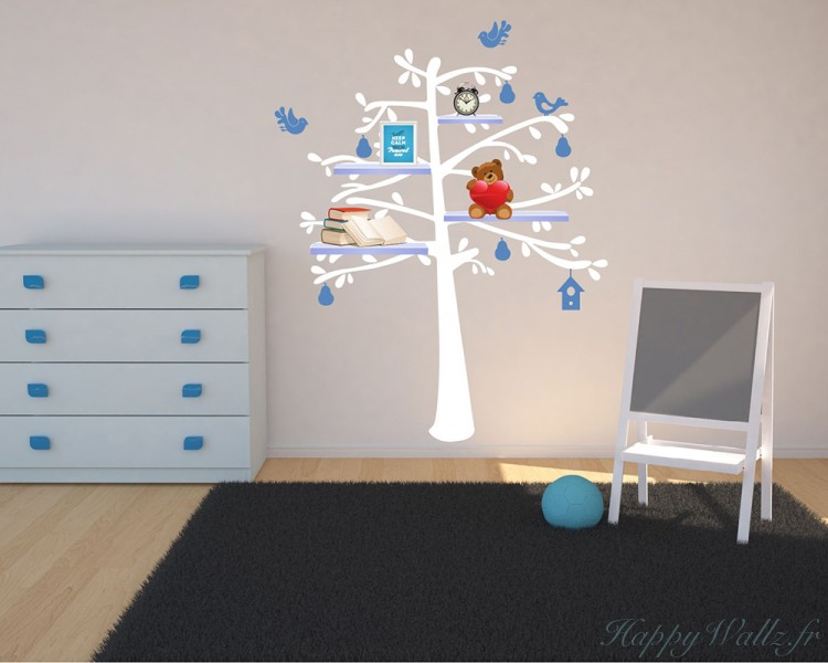 With Fruit Shelf Art Stickers - How do you put up wall art stickers