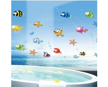 Le monde sous-marin du poisson et de la bulle