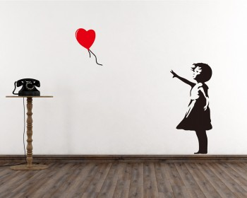Stickers muraux Banksy
