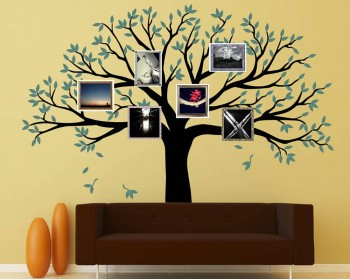 Stickers muraux famille arbre
