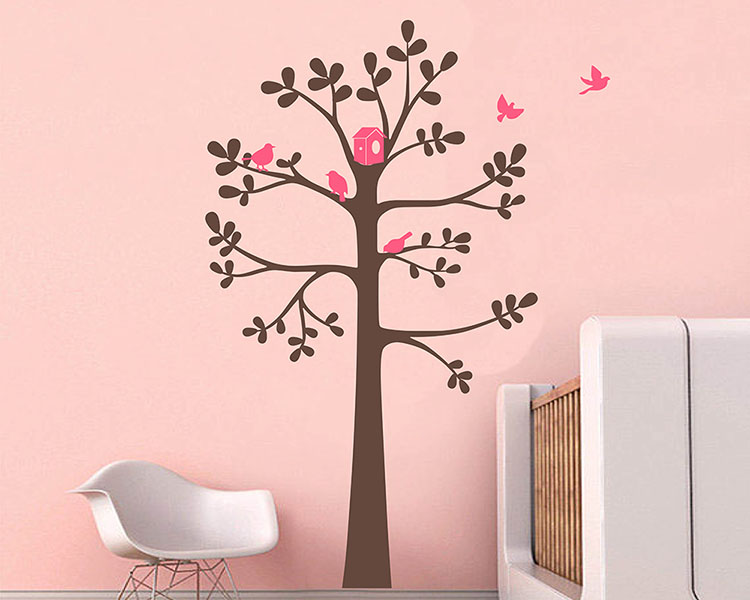 stickers arbre 50 sur les prix magasin. Black Bedroom Furniture Sets. Home Design Ideas